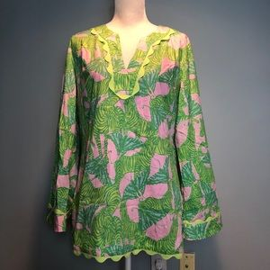 Lilly Pulitzer Butterflies & Zebras Top, Large